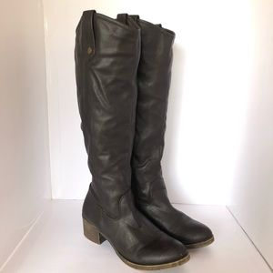 Rampage Realto Tall Boots Dark Brown Size 8.5
